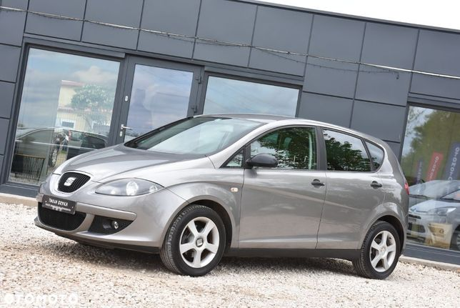 Seat Altea 1.6 Benzyna (102km) Klimatyzacja Alufelgi Elektryczne