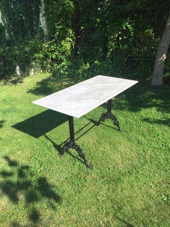 Stół żeliwny zabytkowy