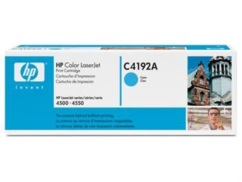 Toner HP Laserjet 4500/4550 (C4192A) Cian