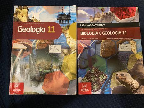 Manuais de Biologia e Geologia 10° e 11° ano