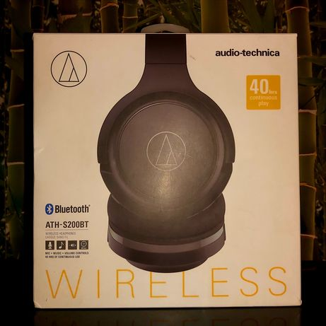 Słuchawki Bluetooth - Audio Technica ATH-S200BT