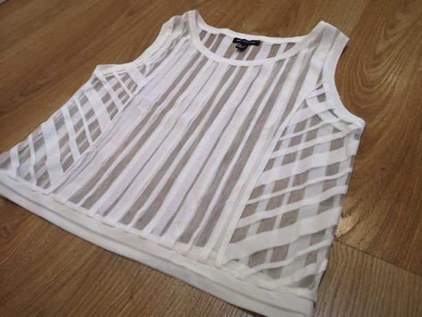 Tiulowa bluzeczka Mango M