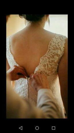 Suknia ślubna rozm.42-44
