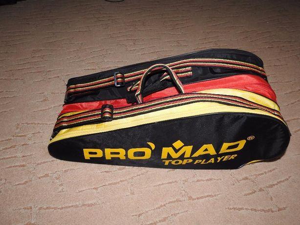 MEGA torba na rakiety tenisowe PRO MAD (min 9 szt mieści)