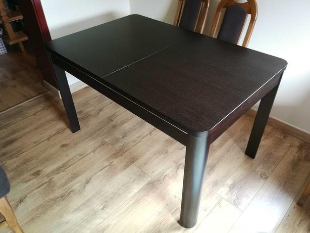Stół rozkładany do salonu jadalni 130-180 Moreno Eurostyl ciemny brąz