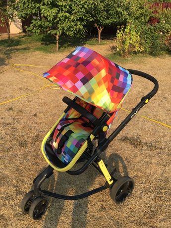 Универсальная коляска Cosatto(унисекс) расцветка Minecraft