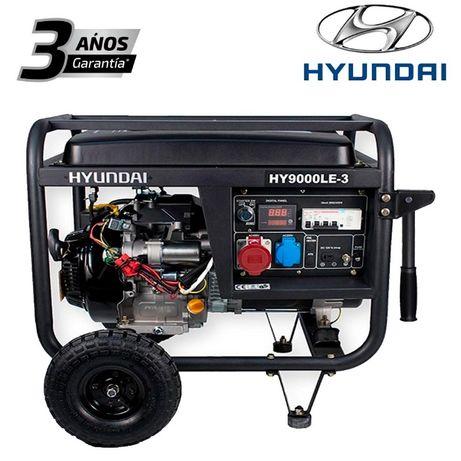 Gerador Trifásico e Monofásico Hyundai 8.2KW NOVO!