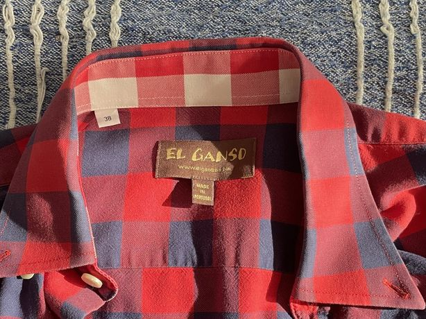 Camisa El Ganso Tamanho 38