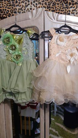 Нарядные платья для девочки 1-4 года