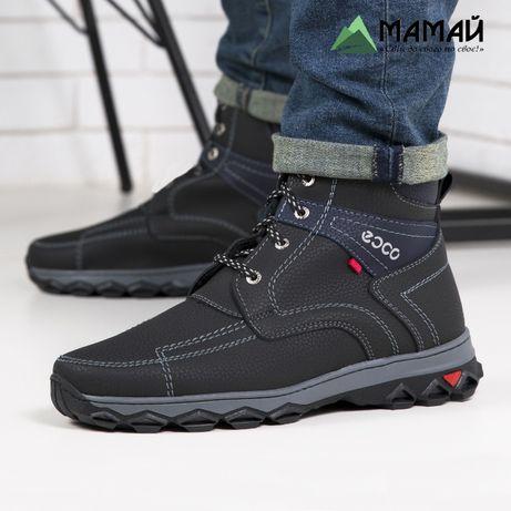 Акція -50%! Зимние мужские ботинки -20 °C Черевики кроссовки № АБ 14