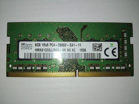 память SO-DIMM DDR4 8GB Hynix (HMA81GS6CJR8N-VK) 2666 MHz