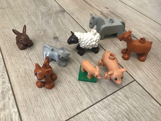 Животные LEGO DUPLO оригинал 8 шт