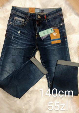 spodnie chlopiec 140cm