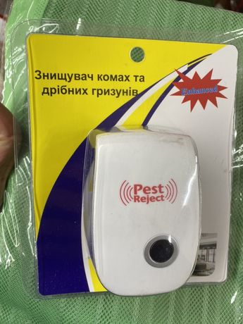 Знищувач комах та дрiбних гризунiв PestReject