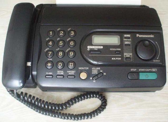 1.- Факс Panasonic KX-FT31. 3.- клавиатура Delux K-7005