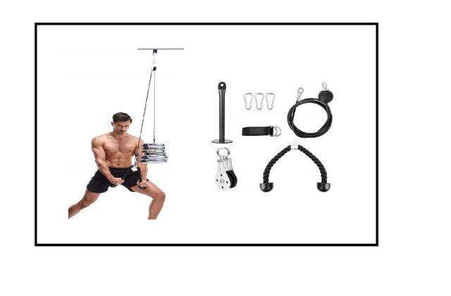 WYCIĄG GÓRNY trening ramion pleców * domowa siłownia *