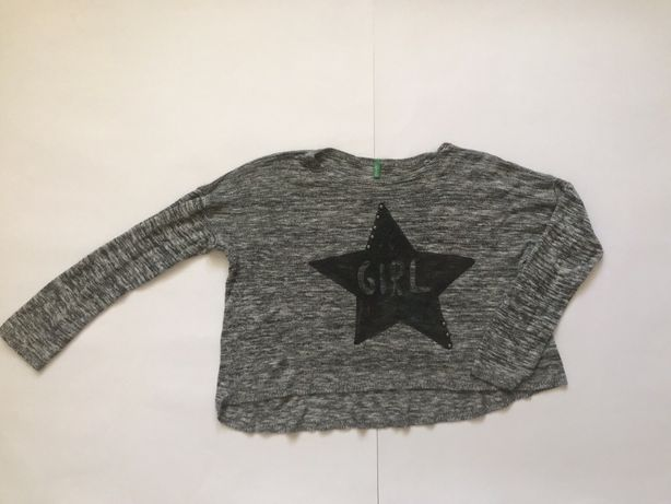 Детский свитер/кроп-топ Benetton