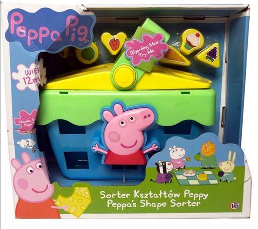 Świnka Peppa Sorter kształtów interaktywna