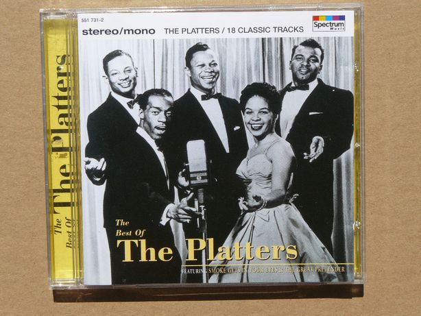 cd The Platters - The Best of..1995 wyd.EU
