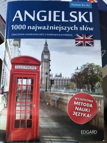 Język Angielski - 1000 najważniejszych słów EDGARD