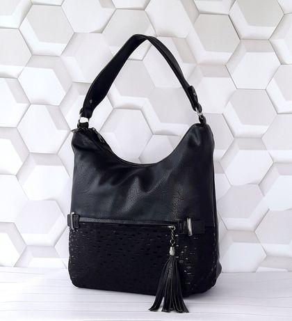 Женская сумка - мешок на одной ручке. Красивая и комфортная модель!