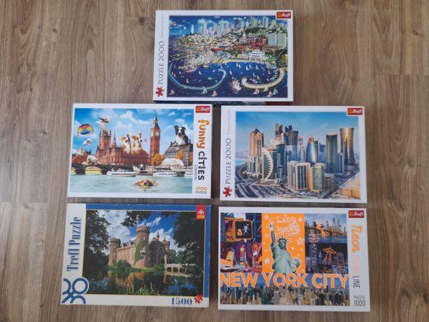 Puzzle 1000,2000 sztuk
