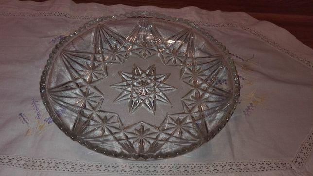 Kryształy OKAZJA !!! - talerze, popielniczka, salaterka