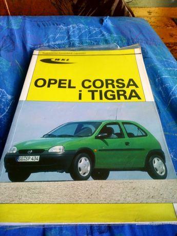 Książka obsługi Opel Corsa B i Tigra