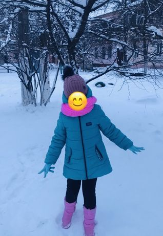 Зимове пальто куртка