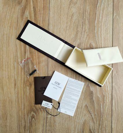 Daniel Wellington pudełko instrukcja przyrząd do wymiany paska metka