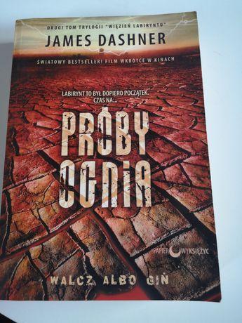Próby ognia James Dashner