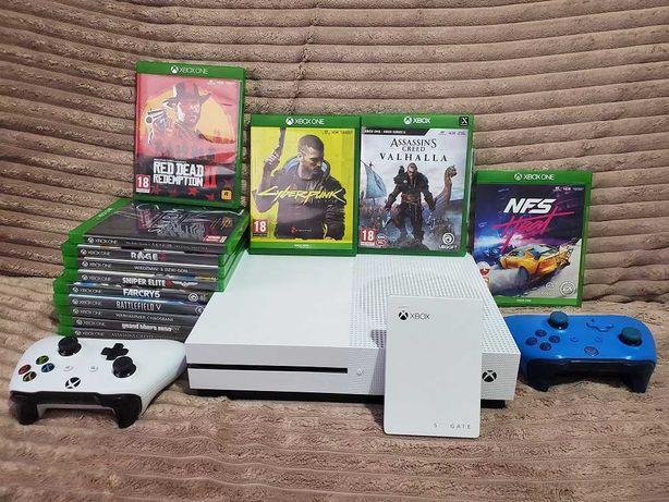 Xbox One S 1TB /Super zestaw na gwarancji/polecam bo warto