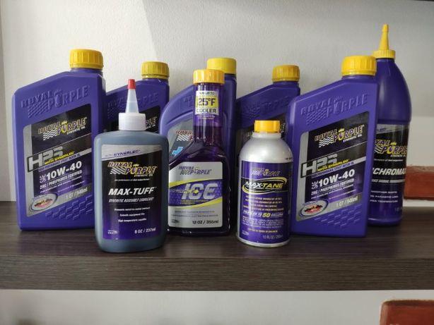 Óleo Royal Purple 75w90 5w30 10w40 10w60 ATF Valvulina Honda BMW EVO