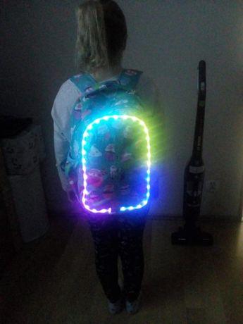 Plecak CoolPack świecący LED babeczki