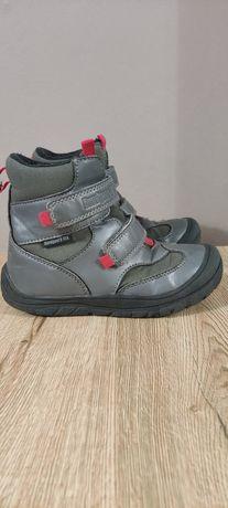 Кожаные зимние термоботинки с защитой носка на липучке Bundgaard