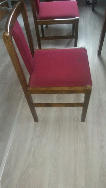 Krzesla prl stare Jafameg 1987 Bielsko Biała zabytkowe 40 za sztukę