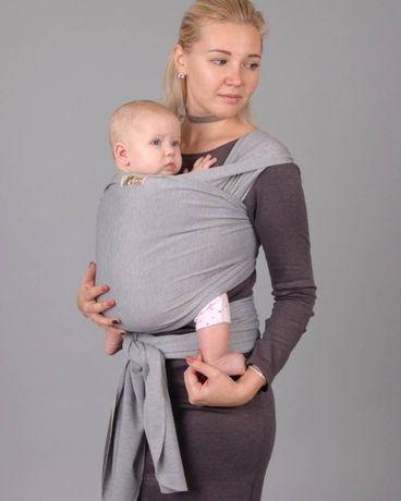 СЛIНГ! Слинг хлопок.Слинг шарф. Намотка. Для новорожденных. Все цвета!