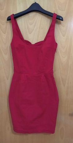 Vestido vermelho da Bershka