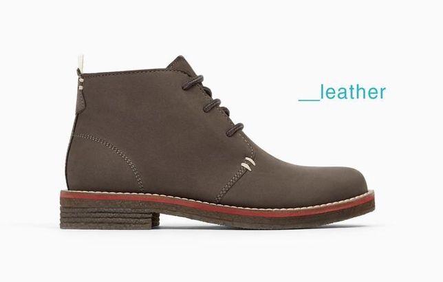 Детские ботинки ZARA. Размеры 35-37