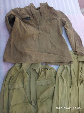 3 мешка военной одежды СССР