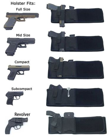 Pas do skrytego noszenia bronii palnej
