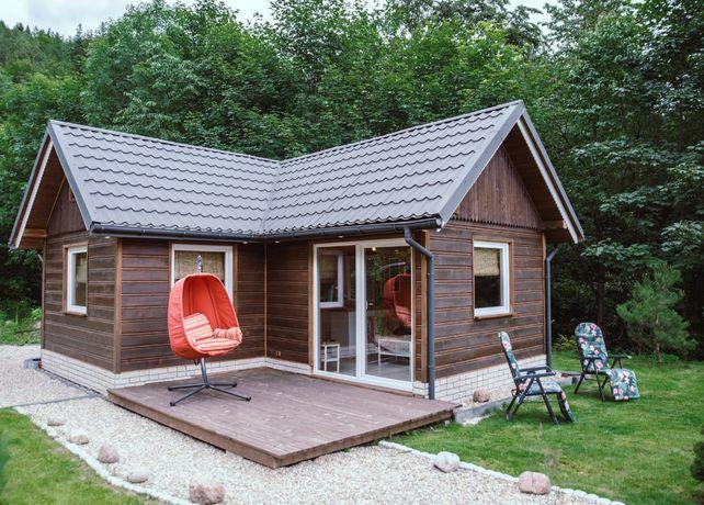 Domy z drewna całoroczne - budowa / do samodzielnego montażu