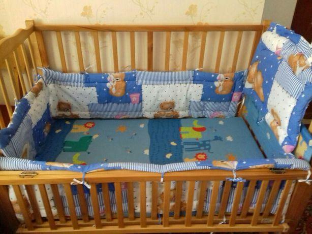 Продам детскую кроватку GEOBY HAPPY DINO