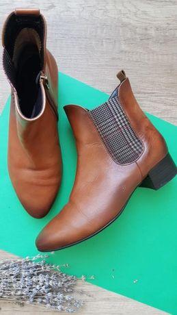 Ботинки кожаные Gabor