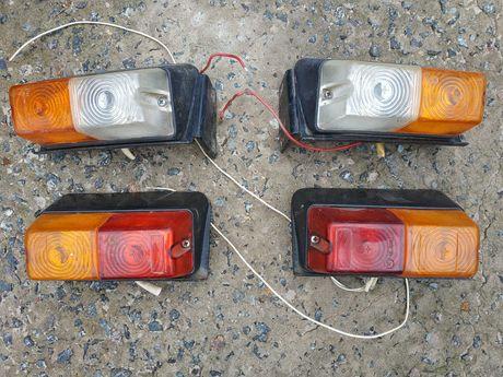 Передние и задние фонари для самодельного трактора