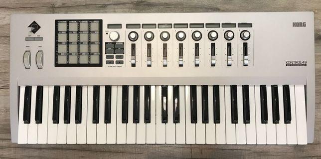 Продам японскую MiDi клавиатуру KORG Kontrol 49