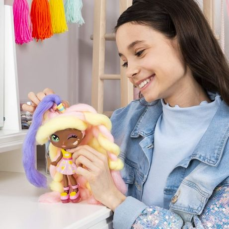 Candylocks. Кукла с волосами сахарной ваты и запахом лимонада -Лэйси