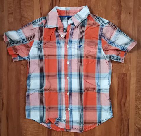 Koszula krótki rękaw krata mega Wrangler na 8 lat jak nowa wysyłka