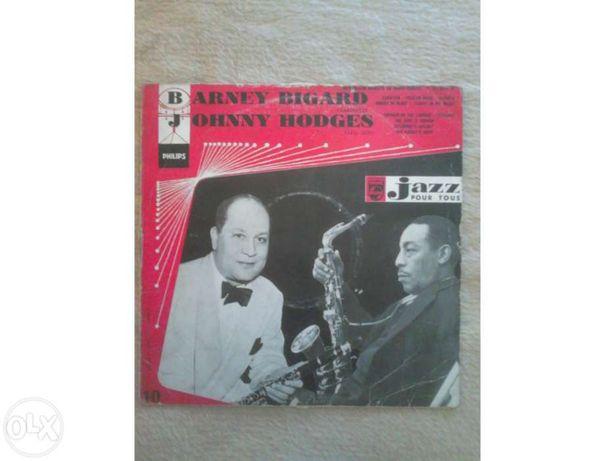Lp antigo, jazz pour tous - barney bigard - johnny hodges - raro