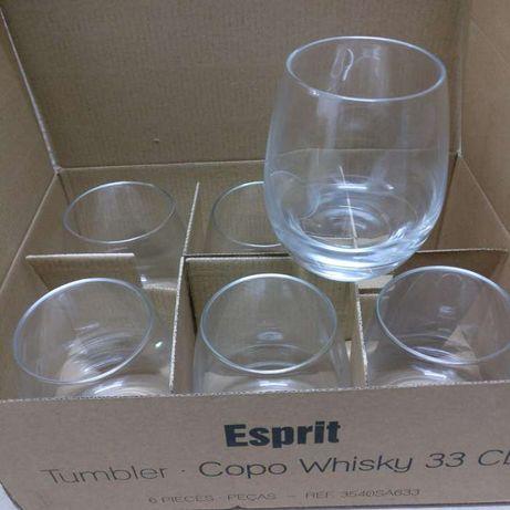 Copos whisky 'Esprit'